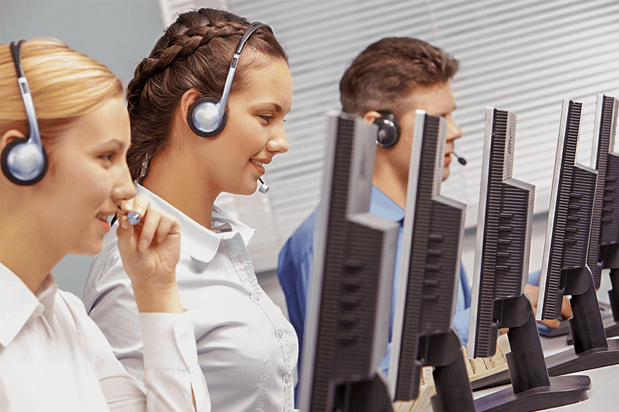Call centre prospecting car dealership customers