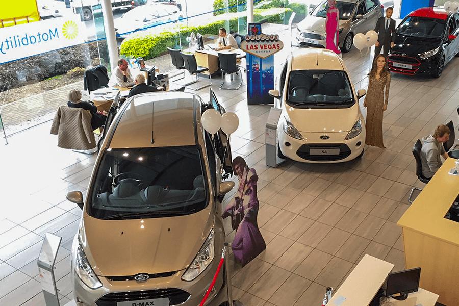 VIP Style Car Showroom