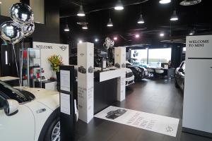 Mini car sales event