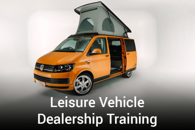 Leisure Vehicle Dealership Training