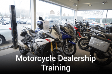 Motorcycle Dealership Training