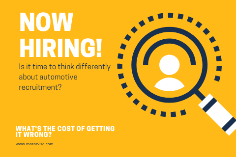 Is it time to think differently about automotive recruitment