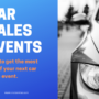 How to run an effective car dealership sales event