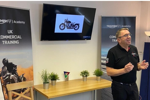 Triumph Motorcycles revs up sales training thanks to virtual programme